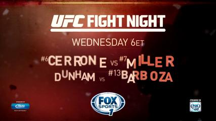 News video: UFC Fight Night Atlantic City: Donald Cerrone vs. Jim Miller